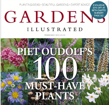 Gardens Illustrated 2013